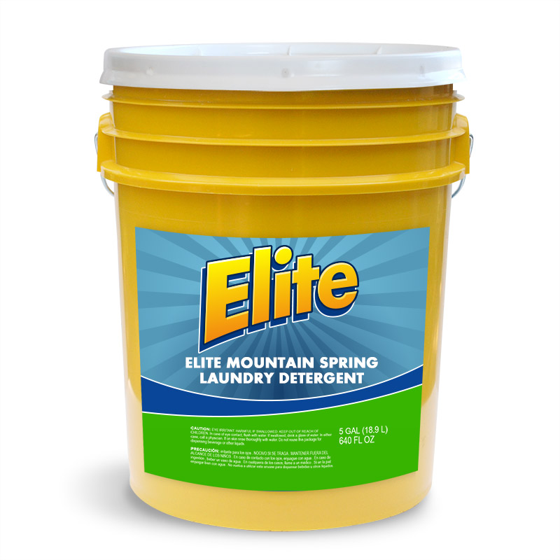 Elite Mountain Sp. Laundry Detergent  (4x) (5 gal)
