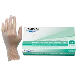 Elite ProWorks Vinyl Disposable Gloves (100ct)