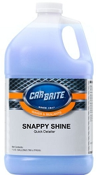 Snappy Shine Quick Detailer by CarBrite (1 Gallon)