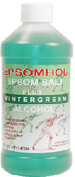 Epsomhol's Epsom Salt Plus Wintergreen Alcohol