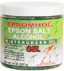 Epsomhol Epsom Salt Wintergreen Gel