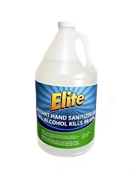 Elite Instant Hand Sanitizer Gel with ALOE (1 gal)