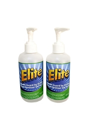 Elite Instant Hand Sanitizer Gel with ALOE (8 oz)