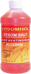 Epsomhol Epsom Salt Deep Heating Rub Alcohol