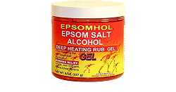 Epsomhol Epsom Salt Alcohol Deep Heating Rub Gel
